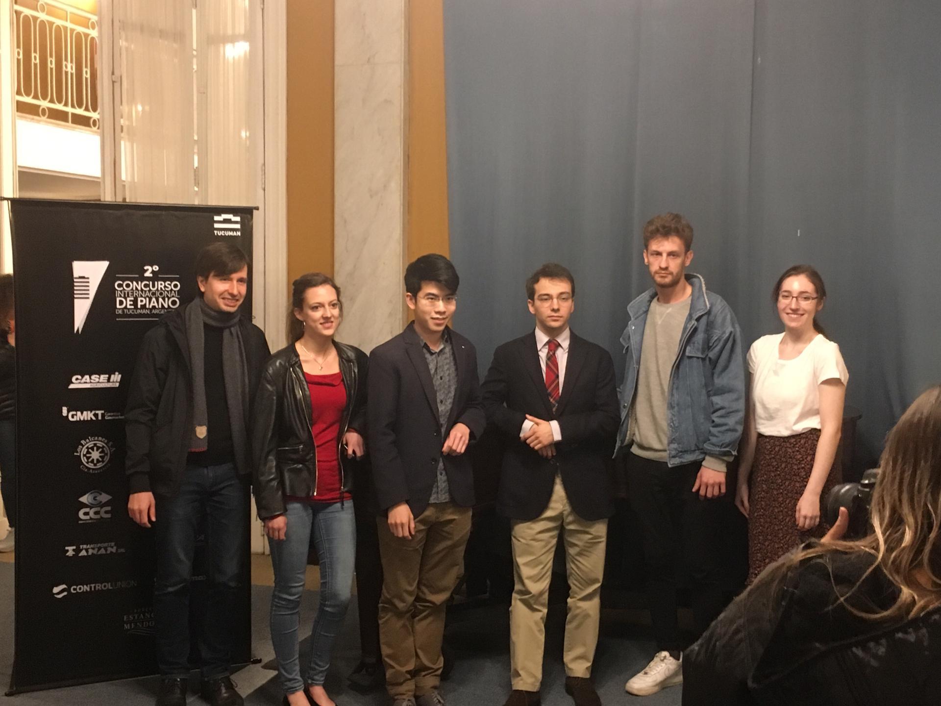 Semi-finalistes du concours en Argentine